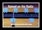 raised button 1 glowing blue radio dial